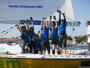Camilla Ulrikkeholm superior in Lysekil Women's Match