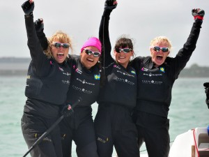 Anna Kjellberg Crowned ISAF Women's Match Race World Champion
