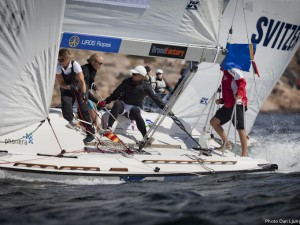 Ulrikkeholm, Mulder, Bezel and Björling Duell to semi – challenging conditions with light winds in Lysekil Women's Match